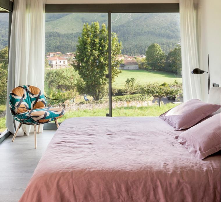 Dormitorio sostenible